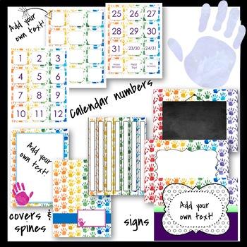 Classroom Decor Handprint Theme