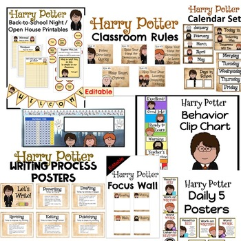 Classroom Decor - Harry Potter