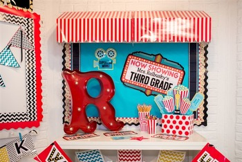 Classroom Decor Hooray for Hollywood!   Full Collection Bundle
