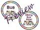 Classroom Decor: How We Go Home: Rainbows and Neon Brights - Editable