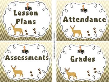Classroom Decor: Hunting Theme