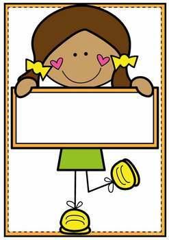 Classroom Labels Classroom Decor {Cute Kids}