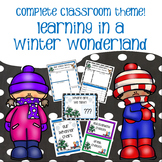 Classroom Decor - Learning in a Winter Wonderland