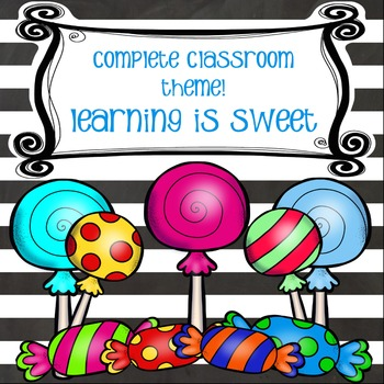 Classroom Decor - Learning is Sweet