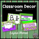 Classroom Decor Lizard Themed Bundle