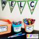 Classroom Decor Llama Theme Editable