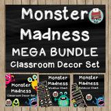 Classroom Decor - MEGA BUNDLE - Monster Madness Theme
