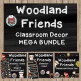 Classroom Decor - MEGA BUNDLE - Woodland Friends Theme