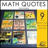 Classroom Decor Math Quotes Bulletin Board Posters
