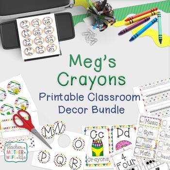 Classroom Decor - Meg's Crayons