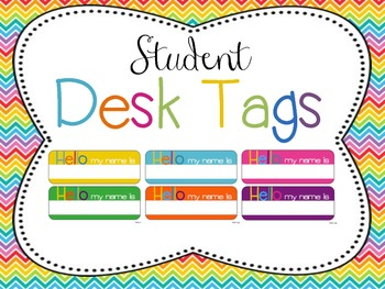 Classroom Decor Mega Bundle: Brights and Chevron 2 WHITE {Editable}