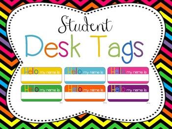 Classroom Decor Mega Bundle: Brights and Chevron WHITE {Editable}