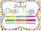 Classroom Decor Mega Bundle: Brights and Polka Dots WHITE {Editable}