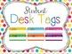 Classroom Decor Mega Bundle: Brights and Polka Dots WHITE
