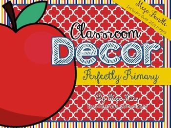 Classroom Decor Mega Bundle: Perfectly Primary