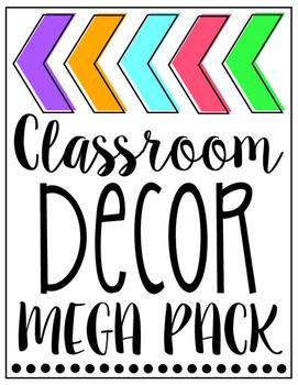Classroom Decor Mega Pack