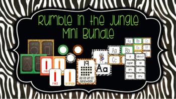 Classroom Decor Mini Bundle: Rumble in the Jungle