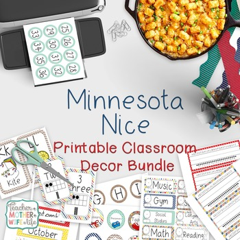 Classroom Decor - Minnesota Nice
