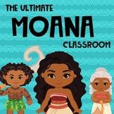 Classroom Decor - Moana