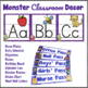 Classroom Decor Monster Theme