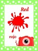 Classroom Decor- Monster Themed Color Posters (English/Spanish)