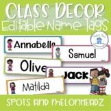Name Tags or Desk Plates