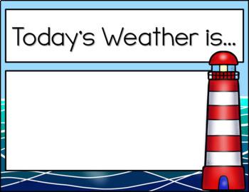 Classroom Decor - Nautical