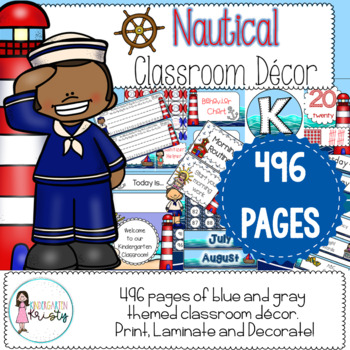 Classroom Decor - Nautical