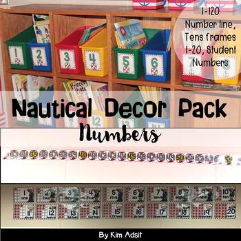 Classroom Decor Nautical Theme by Kim Adsit