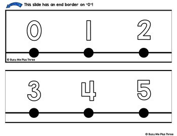 Classroom Decor Number Line LOW INK VERSION {-100 to 250}