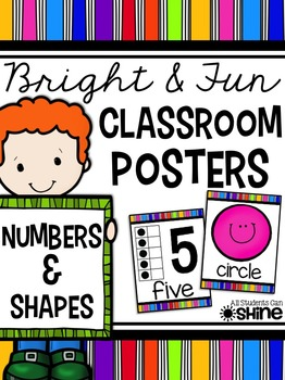 Classroom Decor - Numbers & Shapes
