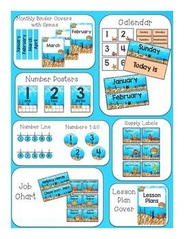 Classroom Decor Ocean