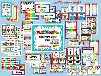 Classroom Decor & Organization Pack (Multicolor)