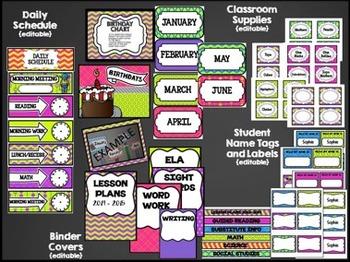 Classroom Decor & Organization: Perky Patterns
