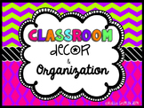 Classroom Decor & Organization: Perky Patterns