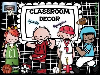 Classroom Decor & Organization: Sports