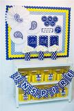 Classroom Decor Oxford Blue - Full Collection Bundle