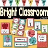 Classroom Decor Brights