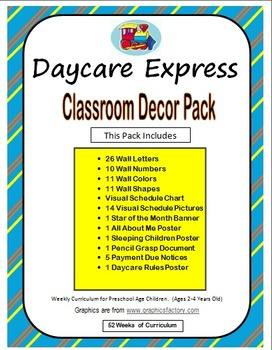 Classroom Decor Pack (Alphabet Wall, Star of the Month, Visual Schedule & More)