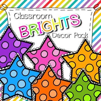 Classroom Decor Pack & Calendar Kit