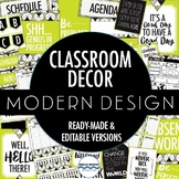Classroom Decor Pack - Modern Classroom Design