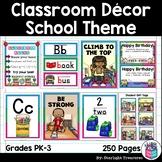 Classroom Decor Pack - School Theme