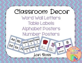 Classroom Decor Packet