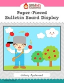 Johnny Appleseed Bulletin Board Display - Paper-Pieced Cla