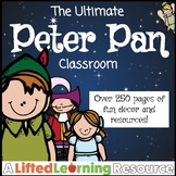 Classroom Decor - Peter Pan (Editable)
