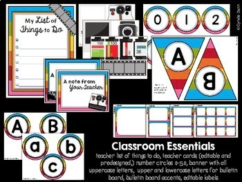 Classroom Decor Camera Photography