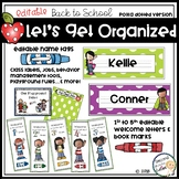 Classroom Decor- Polka Dot Back to School Start up - Classroom Management