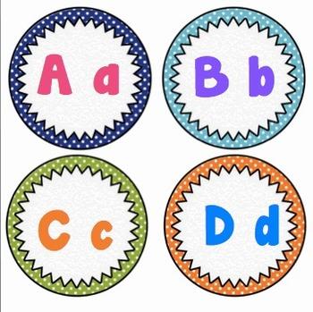 Classroom Decor - Polka Dot Themed