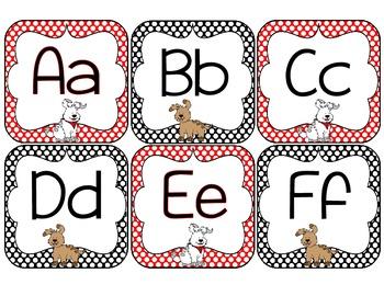 Classroom Decor-Polka dots and Paws