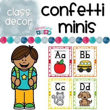 Classroom Decor Polkadot Mini's
